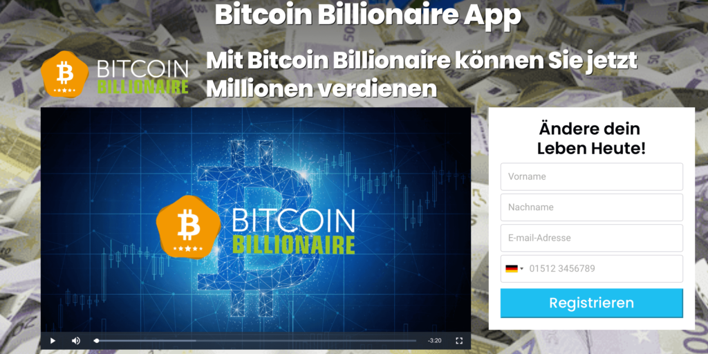 Bitcoin Billionaire Website