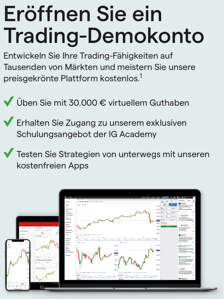 IG Markets Demo Konto